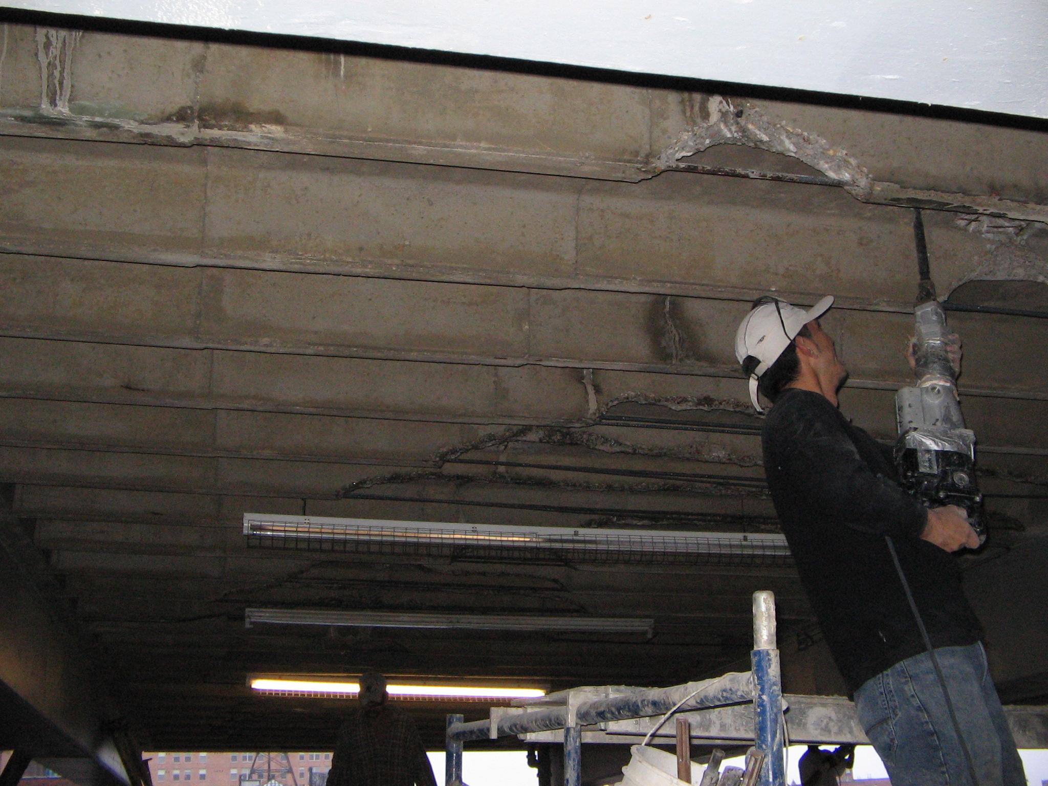 overhead-parking-garage-joist-restoration